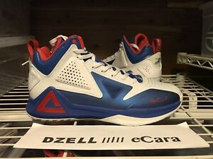 a46b53e06ff NEW PEAK SPORT BASKETBALL TONY PARKER SPURS LEBRON KD 15 RED WHITE ...