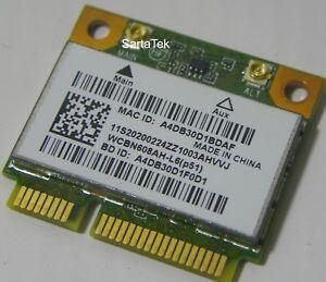 New OEM HP 655795-001 Atheros AR5B225 B//G//N WLAN BT 4.0 PCIe Half WCBN608AH