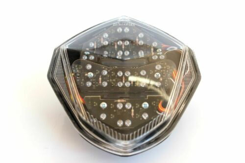 Rücklicht LED Suzuki GSXR 1000 2003-2004 K3 K4 klar weiss clear E-geprüft TÜV