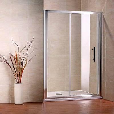 Duschabtrennung Duschwand Glaswand Duschtür Nischentür Duschtasse 110x80 Dusche
