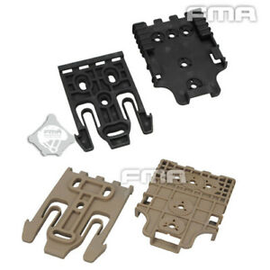 FMA TB1042 QLS Kit Quick Locking System Buckle Clamp Lock For Safariland Holster