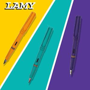 Lamy Safari Füllfederhalter Füllhalter Füller Schulfüller Farbe blau