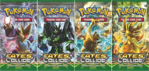 Single or Multipack. Pokemon TCG XY-10 Fates Collide Booster Pack Cards