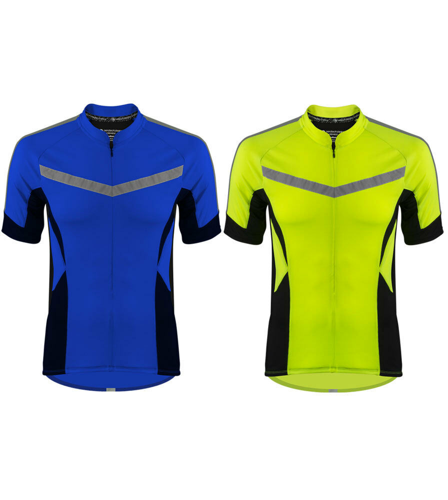 ATD Pace Cycling Bike Jersey Biking Top 360 Hi Visibility Reflective