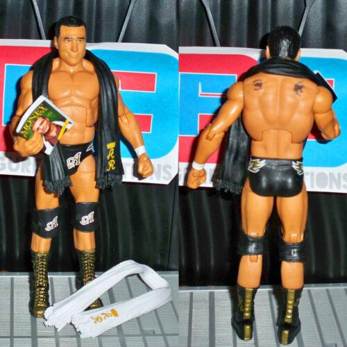 WWE Elite 21 Alberto Del Rio /& 2x Scarves /& Book Wrestling Action Figure Kid Toy