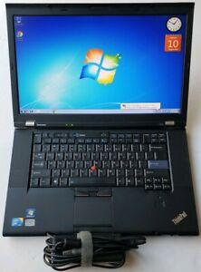 Details about Lenovo thinkpad T510 Core i5 M 540 2 53GHz 6GB 320GB WEBCAM  WIFI Window 7 64-bit