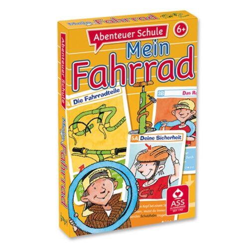 Quartett /& Lernspiel Abenteuer Schule Mein Fahrrad ASS Altenburger 22572846
