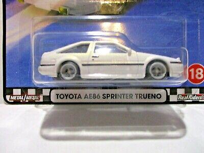 MINT Hot Wheels Premium Boulevard Toyota AE86 Sprinter Trueno Brand NEW//VHTF!
