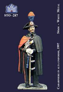Prix Bas Avec Ss La Fortezza 54mm - Carabiniere In Alta Uniforme (1997) (sto-287) ProcéDéS De Teinture Minutieux