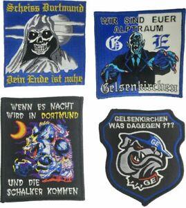 verschieden Aufnäher / Patch - Gelsenkirchen ideal für Kutte, Sammler, Biker