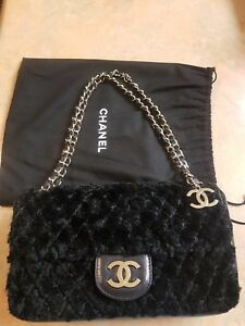 8c10a5add6 Image is loading Limited-Edition-Chanel-Rabbit-Fur-Classic-With-Flap-