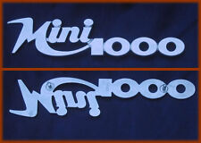 INNOCENTI MINI 1000 - SCRITTA LOGO BADGE