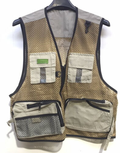 Outdoor Fly Fishing Multi-Pocket Vest Travelers Photography Quick-Dry *FREE POST