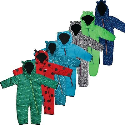 Dare2b Break the Ice Padded Insulated Kids Snowsuit  All-In-One  Sea Breeze Blue