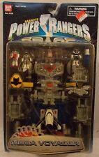 Power Rangers In Space- Mega Voyager Micro Playset by Bandai Silver Ranger (MOC)