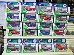 Matchbox-Ltd-Edn-1994-SET-of-28-MB55K-MLB-BASEBALL-FLARESIDE-PICKUP-Trucks-NIB