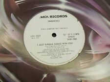 "Dramatics-I Just Wanna Dance With You-12"" Single-Disco-Vinyl Record-VG+"