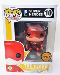 Funko Pop! Flash Métal Poursuite Édition Limitée Dc Comics Figurine En Vinyle #