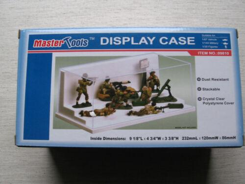 Acryl Vitrine 232 x 120 x 86mm für Figuren Neu Trumpeter 09810 Display Case