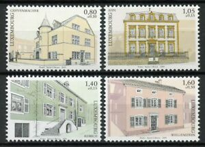 Luxembourg-Architecture-Stamps-2019-MNH-Moselle-Region-Buildings-Tourism-4v-Set