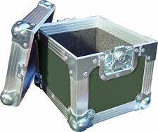 "7"" SINGLE 100 SWAN Flight Case Vinile Record Box (verde oliva)"