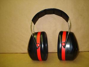 3M HEADPHONES TEKK HEARING PROTECTION PELTOR OVER THE HEAD | eBay