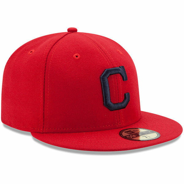Cleveland Indians Alternate 1 Red Era 59fifty Fitted Caps MLB on Field Hats  7 3 4 for sale online  eaf4cd0c6cf