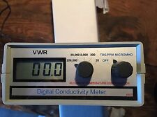 Portable Vwr Conductivity Total Dissolved Solids Meter With Power Supply