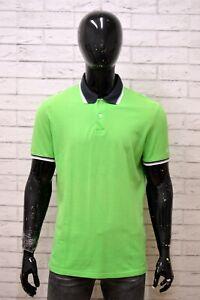 Polo-Maglia-Uomo-CHAMPION-Shirt-Man-Taglia-Size-L-Manica-Corta-Cotone-Casual