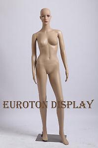 SF-2 Eurotondisplay Schaufensterpuppe mit 2 Perücke gratis  weiblich beweglich