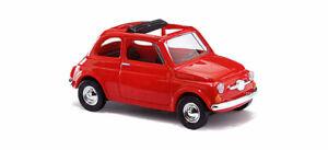 Amical Busch 48720 - Fiat 500, Rouge Ho 1:87 Qualité Et Quantité AssuréE