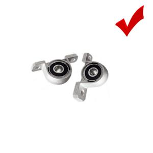 Zinc Alloy Diameter 8mm Bore Ball Bearing Pillow Block Mounting Shaft for KP08