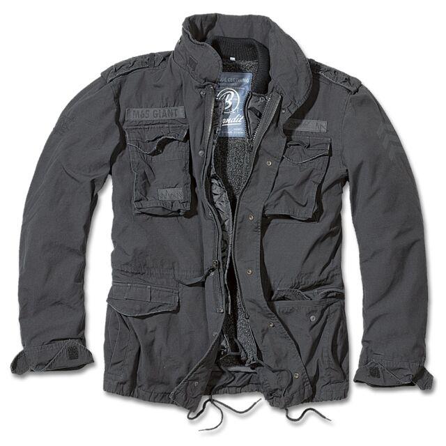 7e84e614e433 Brandit Veste Homme 3101 Premium Feldjack M-65 Giant Noir (2) 5xl ...
