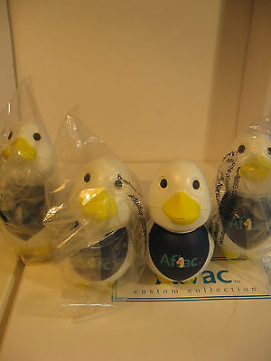 Aflac Stress Squeeze Ducks 100 of them Deal!!! 100 duck squeeze toys