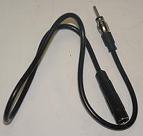 1 Metre 1M Car Radio Aerial Antenna Coax Extension Lead Cable Radio DIN 41585