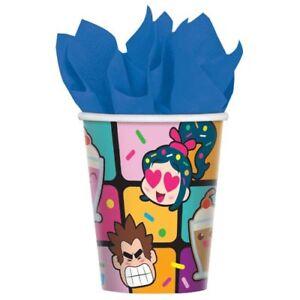 Wreck it Ralph Breaks the Internet Reusable Keepsake Cups Party Supplies
