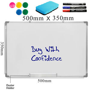 Large-Magnetic-Dry-Wipe-Whiteboard-Home-School-Drawing-Board-amp-Office-Notice-Board