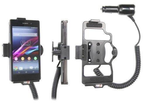 Brodit KFZ Halter 512566 mit Zigarettenanzünderanschluß für Sony Xperia Z1