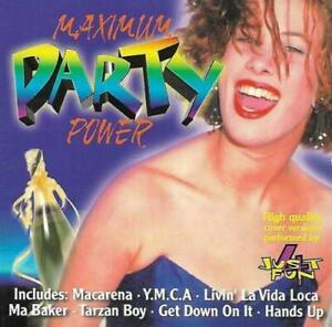 Various-Artists-Maximum-Party-Power-CD-1999