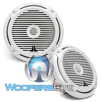 """OPEN BOX JL AUDIO M770-CCX-CG-WH 7.7"""" 2-WAY MARINE COAXIAL  SPEAKERS"""