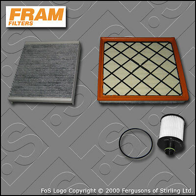 Pollen Opel Astra H 1.6 Genuine Fram Cabin Interior Air Filter Service