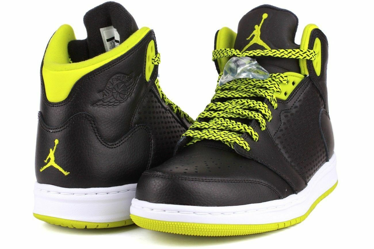 The latest discount shoes for men and women NIB Nike Jordan Prime 5 Mens Black/Green/White Basketball Shoes Comfortable