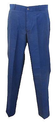 Bleu tonic mod retro classic 60/'s 70/'s par relco pantalon sta presse