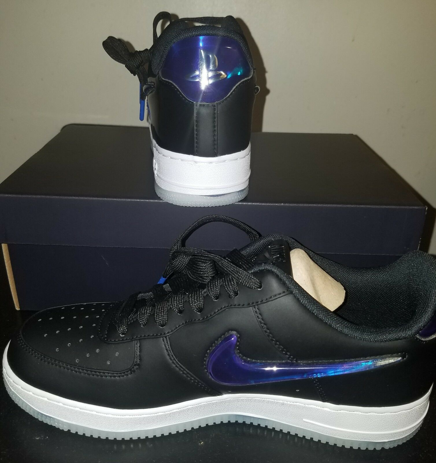 official photos 63f39 1f78a Nike Air Force 1 Playstation 18-SIZE 8.5 E3 2018 100% Authentic + E3 BONUS
