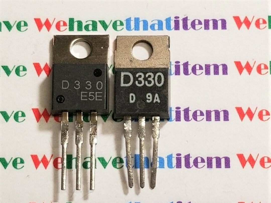 LOT OF 10 2SD330 SANYO TRANSISTOR   TO-220 D330