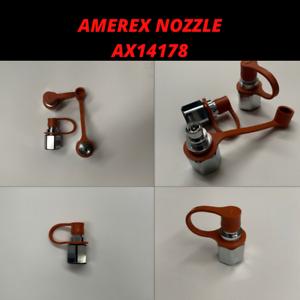 WITH CAPS. Amerex Nozzle 14178 AX14178