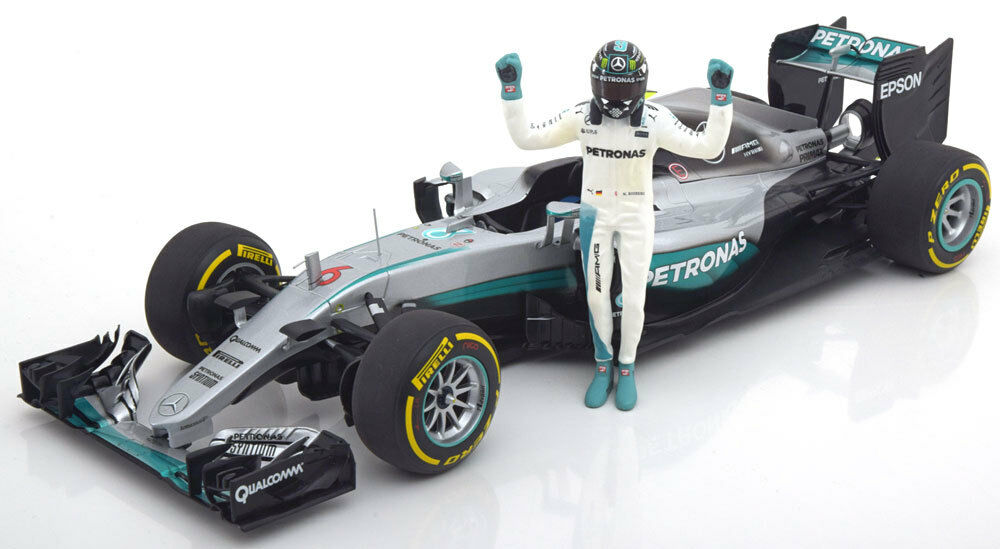 Minichamps Mercedes AMG F1 W07 Hybrid World Champion 2016 Rosberg  18 New