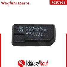 ID33 PCF7931 Transponder Chip Wegfahrsperre Chip ID 33 Schlüssel PCF 7931 Neu