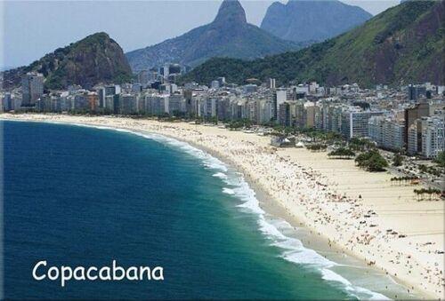 Copacabana Rio de Janeiro Photo Frigo Réfrigérateur Magnétique Souvenir 126