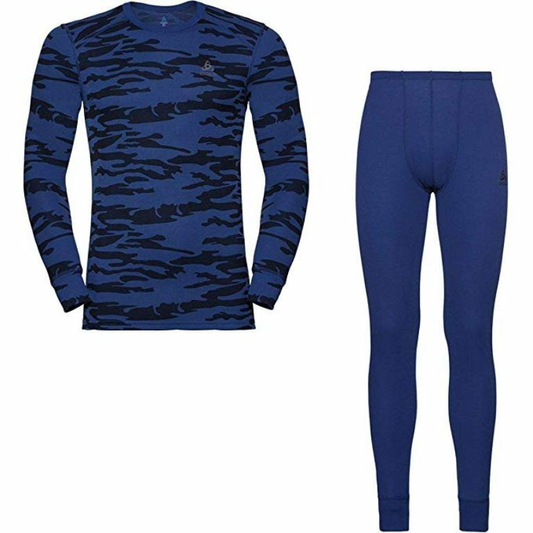 Odlo Set warm GOD JUL Herren sodalite Blau 192072  99,99